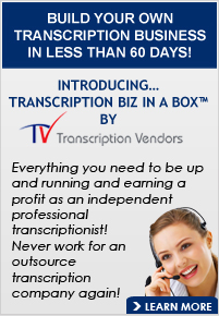 Start Your Transcription Business with Transcription Vendors