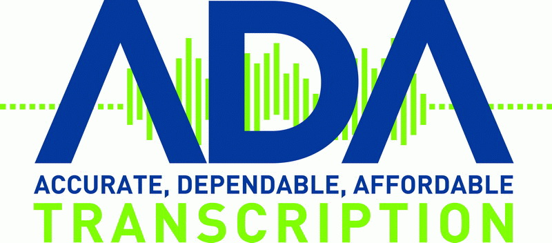 ADA Transcription